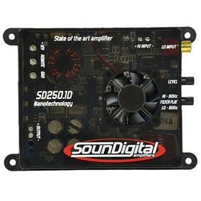 Modulo Soundigital Sd 250.1 250w Rms 2 Ohms O Melhor Preço