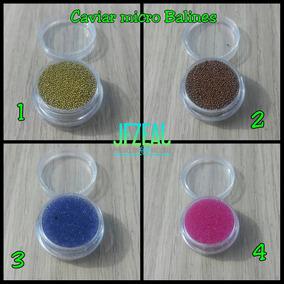 Caviar Micro Balines Para Decoración De Unas 4grs