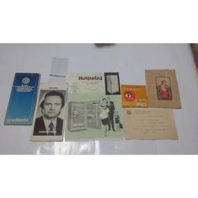 Lote Com Manuais,fotos ,cartoes E Propaganda Antigo