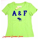 Lote Remeras A&f Mujer Importadas Ideal Revendedores