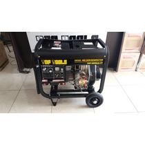 Generador Y Soldadora De Diesel 6000w 190amp 110v 10hp 2017