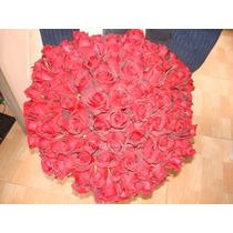 Ramo De 100 Rosas Naturales Calidad De Exportacion