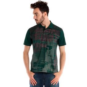68623cf561 Camisas Cor Principal Verde Masculinas em Blumenau no Mercado Livre ...