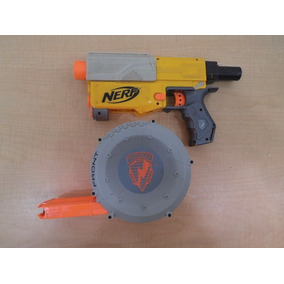 Pistola Nerf N-stiker Cargador Redondo Juguete Niños #723