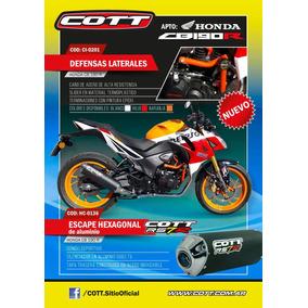 Escape Cott Rs7r Honda Cb190 R / Cb190r / Cb 190