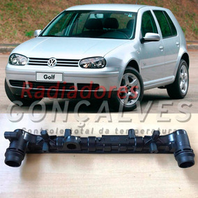 Caixa Superior Do Radiador Vw Golf / Fox / A3 Com Engate