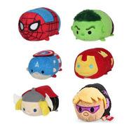Tsum Tsum - Spiderman Hulk Cap America Iron Man Thor Hawkeye