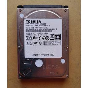 Disco Duro Interno Toshiba Laptop 320 Gb
