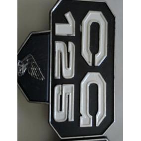Emblema Lateral De Moto Cg 125/82 Bolinha,paralelo,plástico