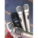 Micrófono Profesional Hyundai Minitecas-d