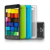 Smartphone Ms50 Colors Multilaser Preto 5 8.0mp 3g Quad 8gb