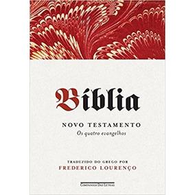 Bíblia - Os Quatro Evangelhos Livro Frederico Lourenço