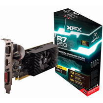 Placa De Vídeo Radeon R7 250e 2gb Ddr3 Low Profile Xfx