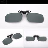 Óculos Lentes Clip On Sobrepor Verde Escura