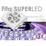 Fita Superled 5050 Rolo 5m 300 Leds Branca 12v Automotiva