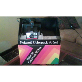 Camara Instantanea Polaroid Colorpack 80 Set