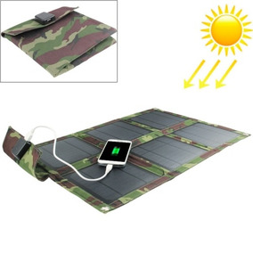 Solar Cargador 15w Panel Portatil Bolsa Para Laptops E