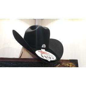 Sombrero Texana Larry Mahan 3x Lana Tigres Del Norte Negra