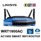 Router Wireless Smart Wifi Gigabit Linksys Wrt1900ac Dual B.