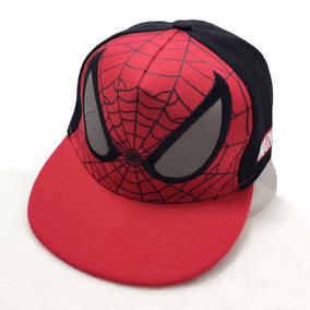 Spiderman Gorras Marvel Snapback Para Niños