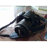 Camara D3300 Nikon 90% Seminueva