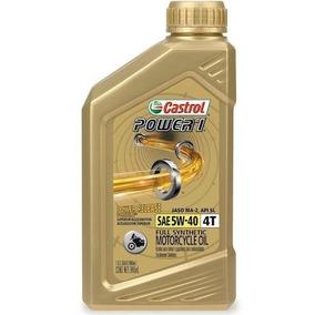 Aceite Sintetico Moto Bmw Castrol Power 1 5w40 4 Botellas