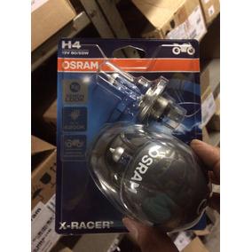 Lampada P/ Moto X-race Osram H4 (par) Super Branca 55w/60w