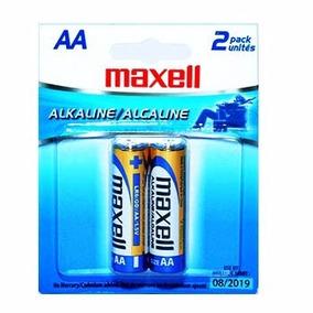 Pilas Maxell Aa 2 Por Empaque Alkaline