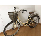 Bicicleta Vintage Marca Veloz + Casco + Cadena