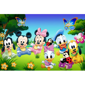Painel Decorativo Festa Infantil Turma Do Mickey Baby (mod3)
