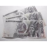 Billete 50,000 Pesos Cuauhtemoc De Papel Condicion Usado