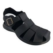 Sandalia Para Hombre 100% Cuero K22