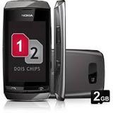 Celular Nokia 305 Clássico -02 Chips Vitrine Novo Anatel
