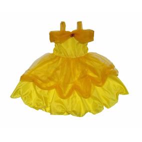 Vestido Disfraz Bella Y Bestia Para Nena