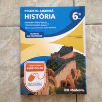 Livro Projeto Araribá História 6ª Ano Manual Do Professor