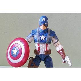 Boneco Capitão América Marvel Da Hasbro 10 Cm
