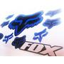 Kit De Calcomanias Fox Reflectivas