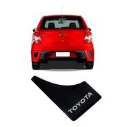 Juego 4 Barreros Goma Toyota Etios Corolla Yaris
