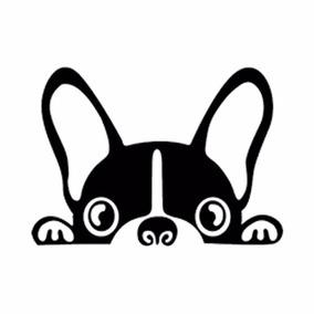 Adesivo Bulldog Francês