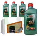 Troca De Oleo Completa Castrol 5w40 502.00 Parati 1.6