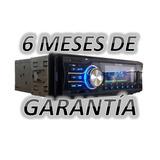 Auto Estéreo Bluetooth Mp3 Fm Gtia 6 Meses Y Envio Gratis