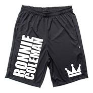 Bermuda Ronnie Coleman Masculina Dryfit Fitness Para Treino