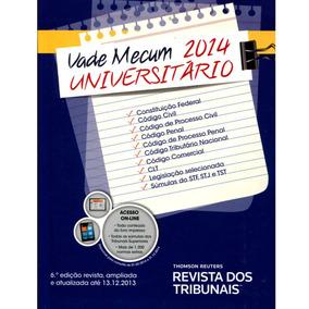 Livro Vade Mecum Universitário 6ª Edição 2014 Equipe Rt