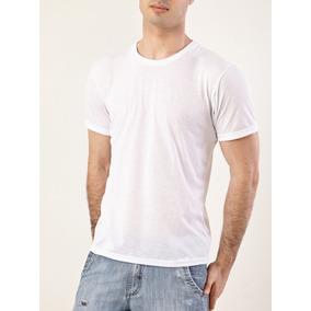 Camiseta Poliester Branca Para Sublimação