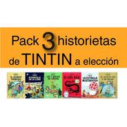 Pack 3 Historietas De Tintin A Elección - Hergé