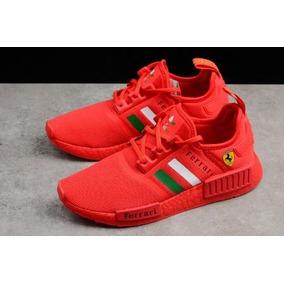 c681d8ab186 Tenis Adidas Ferrari Masculino - Tênis Vermelho no Mercado Livre Brasil