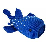 Amigurumi Tiburón Ballena Hecho A Mano En Crochet
