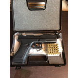 Pistola Fogueo Glock Defensa Vigilante Salvas Detonadora Mil