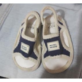 Sandalias Mini Mimo Talle 17 Azul