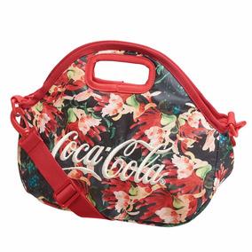 Bolsa Coca Cola Pequena Ombro Impermeavel Resistente Barata